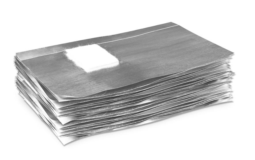 Nail Wrap Foil σε φύλλα - 50τμ